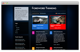 Foreword Thinking
